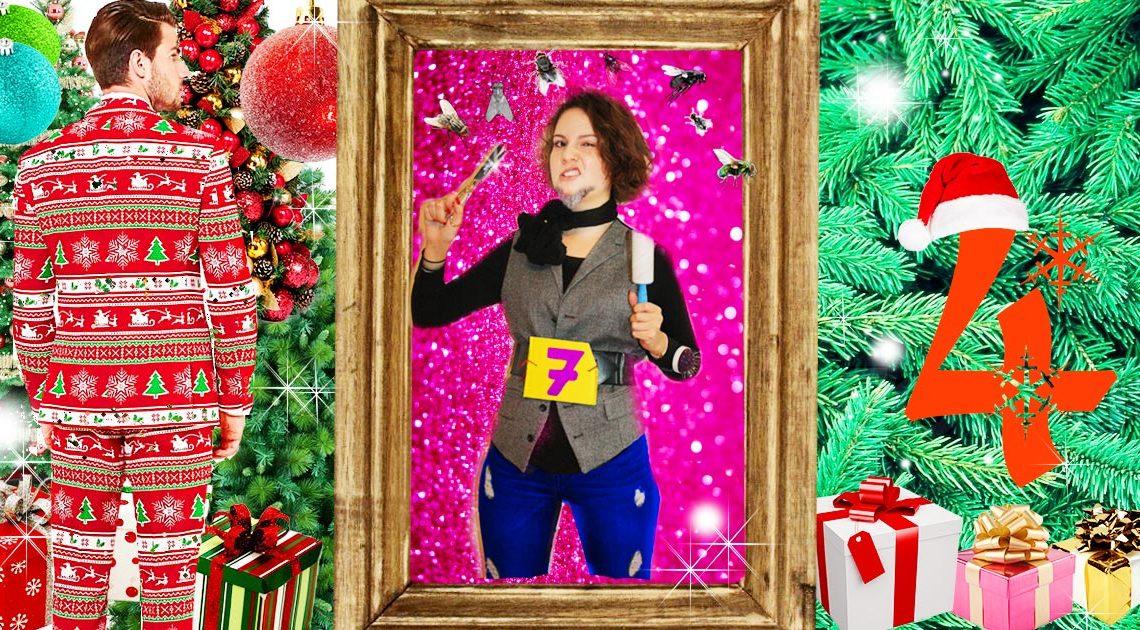 SLEAZE Adventskalnder 2016 Weihnachtsanzug von Maskworld gewinnen