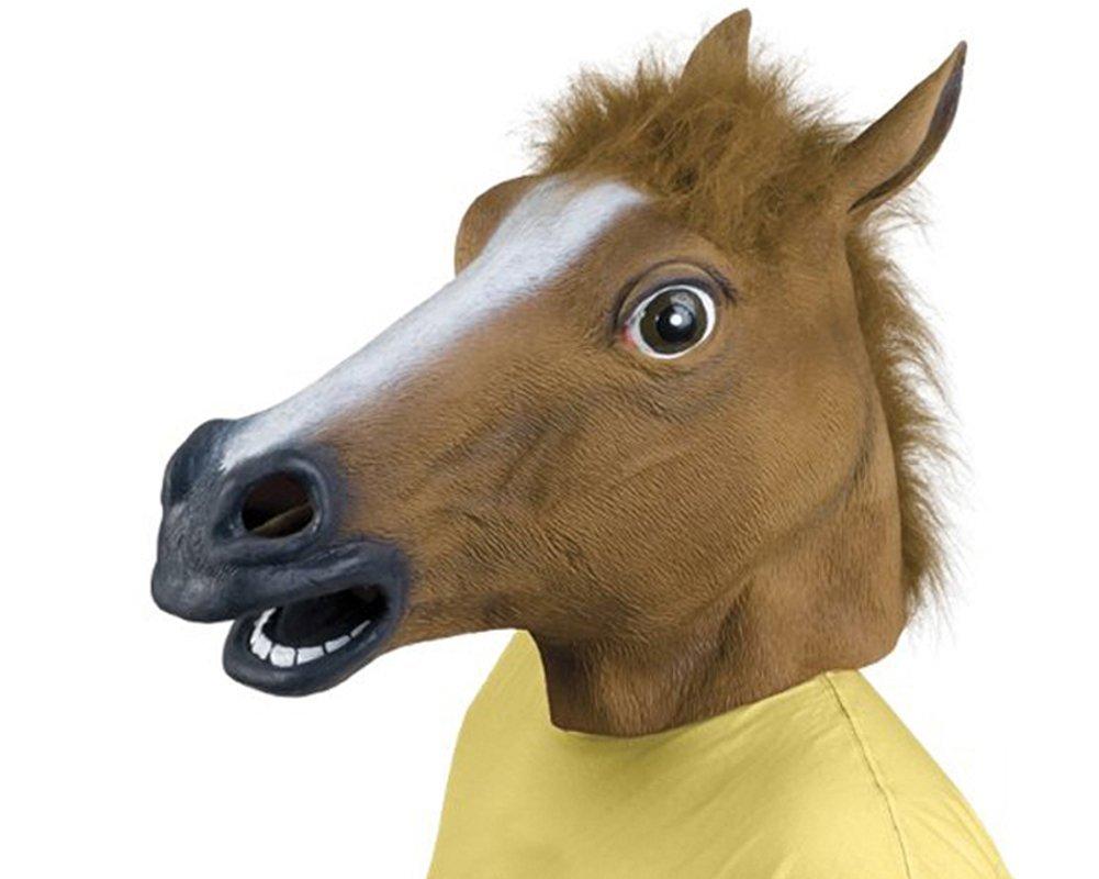 wichtelgeschenke pferd maske