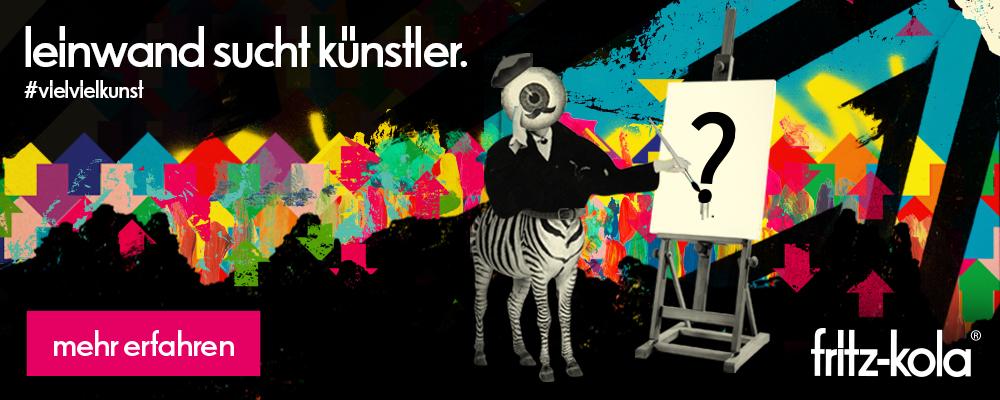fritz Kola leinwand such Künstler