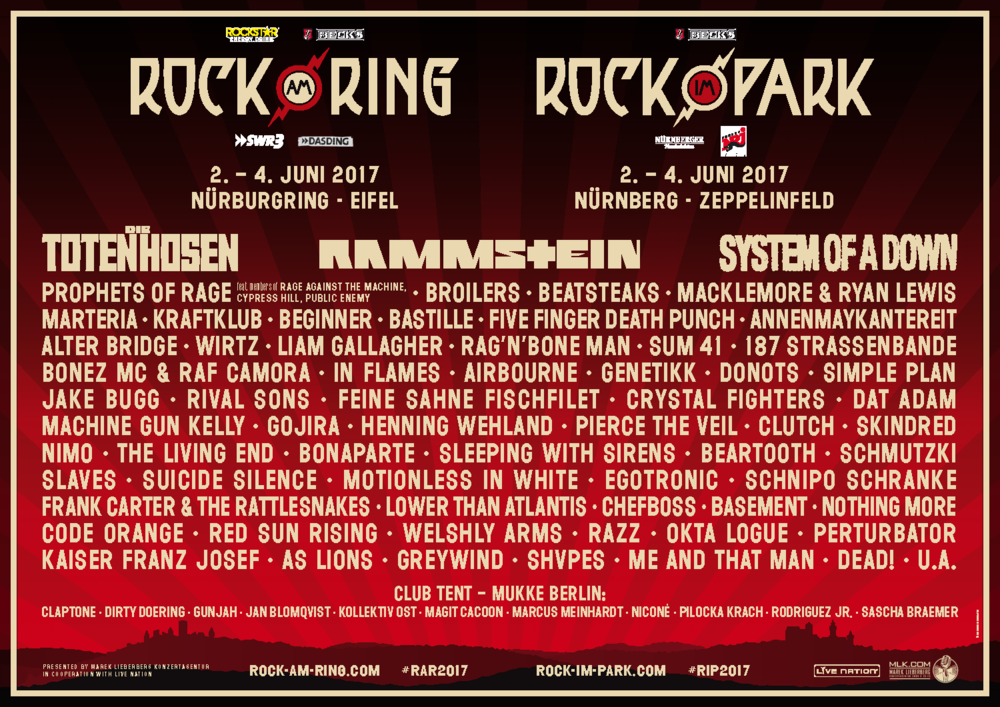 rock am ring zippos line up feuerzeuge