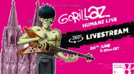 telekom Gorillaz electronic beats