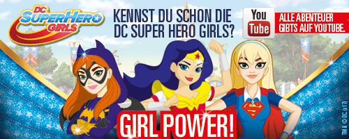 DC Super Hero Girls Girl Power
