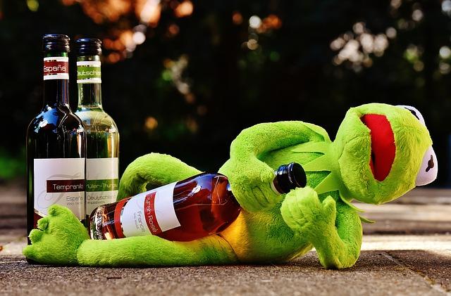 Kolumne Erwachsen Sleaze Alkohol